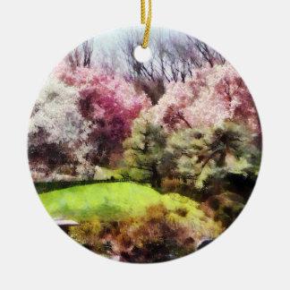 Japanischer Frühling Weihnachtsbaum Ornament