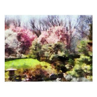 Japanischer Frühling Postkarte