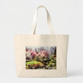 Japanischer Frühling Einkaufstasche