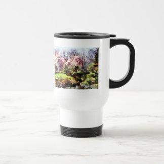 Japanischer Frühling Kaffee Haferl