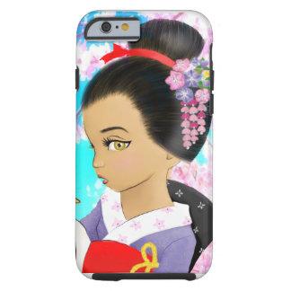 Japanischer Frühling Tough iPhone 6 Hülle