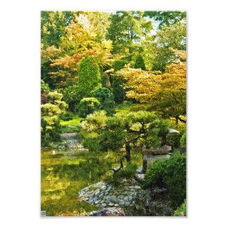 Japanischer Garten Fotodruck