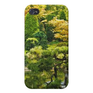 Japanischer Garten iPhone 4 Schutzhülle