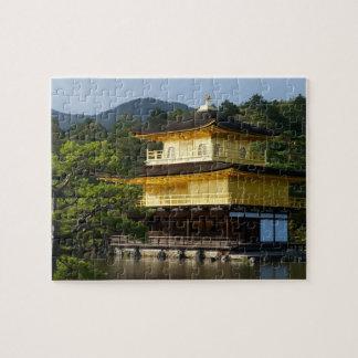 Japanischer Garten, Kinkaku-ji Tempel, Kyoto, Puzzle