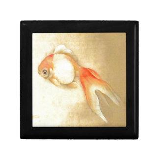 Japanischer Goldfisch Schmuckschachtel