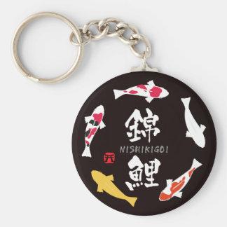 Japanischer Karpfen (Koi oder Nishikigoi) Schlüsselbänder