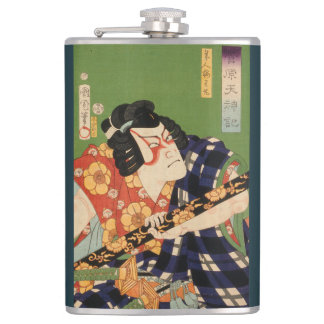Japanischer Schauspieler (#1) (Vintager Flachmann