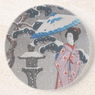 Japanischer Untersetzer