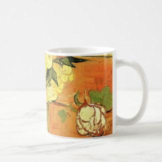 Japanischer Vase Van Gogh mit Rosen und Anemonen Kaffeetasse