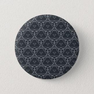 Japanischer Verzierungsmusterentwurf Runder Button 5,1 Cm
