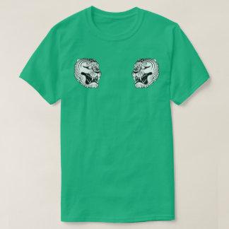 japanischer weißer Tigertätowierung T - Shirt