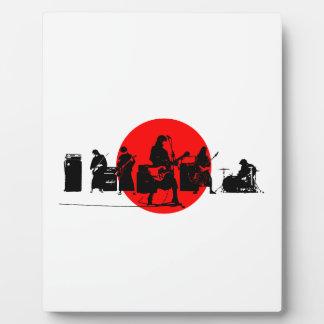 Japanisches Band Fotoplatte