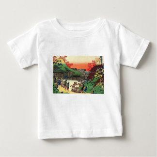Japanisches Dorf Baby T-shirt