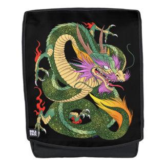 Japanisches Drache Buch von 100 Drachen NIVEAU 2 Rucksack
