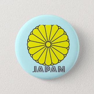 Japanisches Emblem Runder Button 5,1 Cm