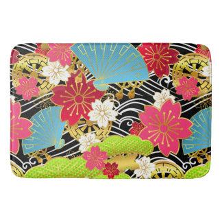 Japanisches Kimono-Gewebe redete Badmatte an Badematte