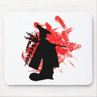 Japanisches Mädchen Mousepad