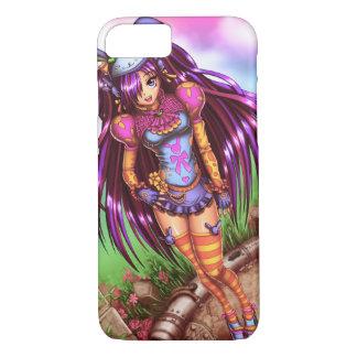 Japanisches Modeanime-Mädchen iPhone 7 Hülle