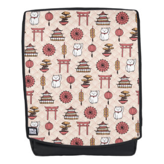 Japanisches Muster Rucksack