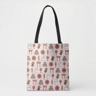 Japanisches Muster Tasche