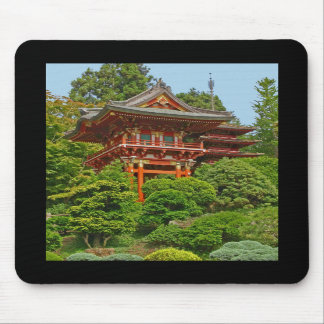 Japanisches Pagoden-Foto-Malerei mousepad