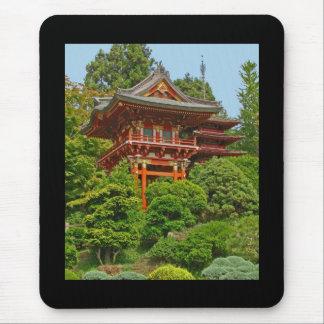 Japanisches Pagodenfoto-Malerei mousepad
