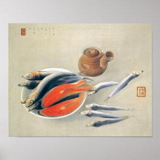 Japanisches Stillleben Poster