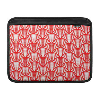 Japanisches Wellen-Muster MacBook Sleeve