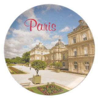 Jardin DU Luxemburg in Paris Teller