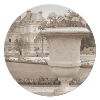 Jardin DU Luxemburg, Vintages Paris Melaminteller