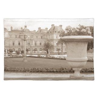 Jardin DU Luxemburg, Vintages Paris Tischset