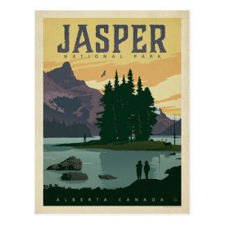 Jaspis-Nationalpark, Alberta Kanada Postkarte