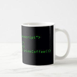 Javascript-Kaffee-Tasse Tasse