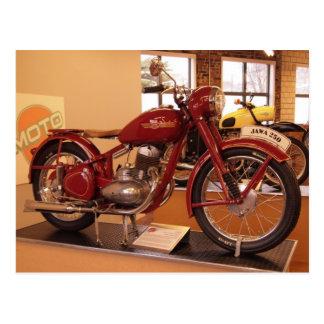 Jawa 250 Vintages Museum St. Louis Motorrad-MOTO Postkarte