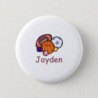 Jayden Runder Button 5,7 Cm
