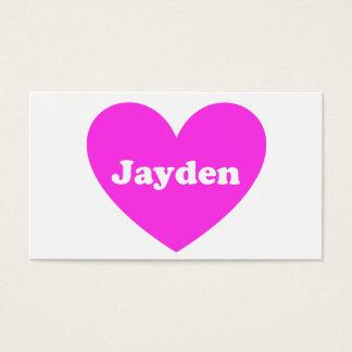 Jayden Visitenkarte