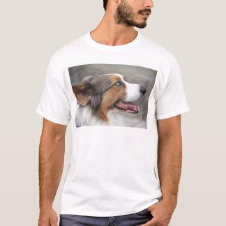 Jayke - blauer merle Wolljacken-WaliserCorgi T-Shirt