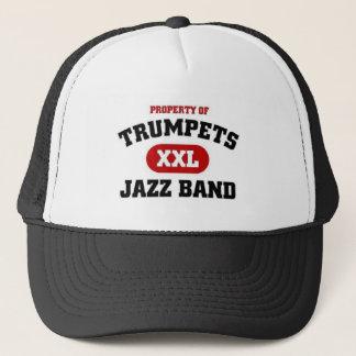 Jazz-Band der Trompete-XXL Truckerkappe