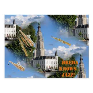 Jazz Bredas Grote Kerk Postkarte