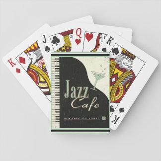 Jazz-Café-Spielkarten Spielkarten