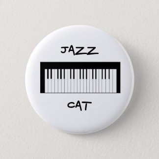 Jazz CAT-Knopf Runder Button 5,1 Cm