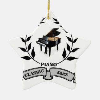 Jazz des Klaviers c Keramik Ornament