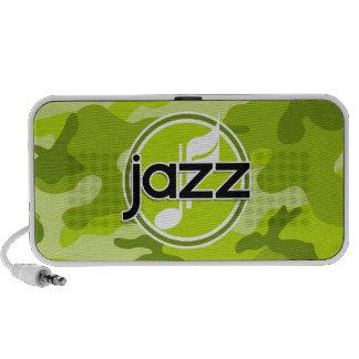 Jazz hellgrüne Camouflage Tarnung Reise Speaker