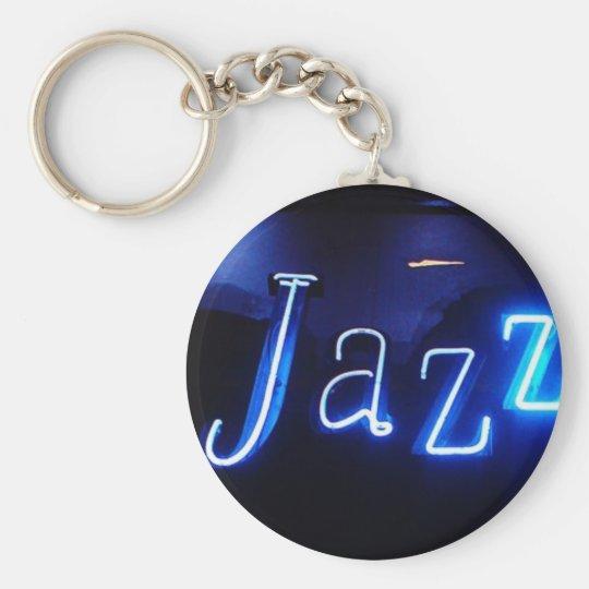 Jazz in Blue-Anhänger Schlüsselanhänger