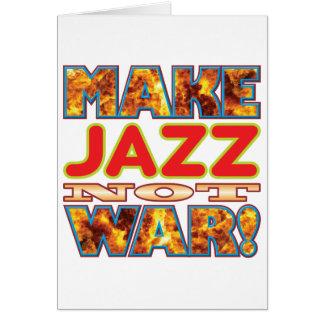 Jazz machen X Karte