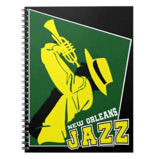 Jazz new Orleans Notizblock