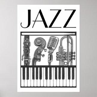 Jazz-Plakat Poster