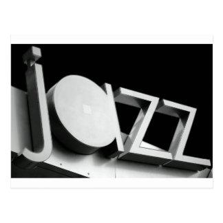 Jazz Postkarte