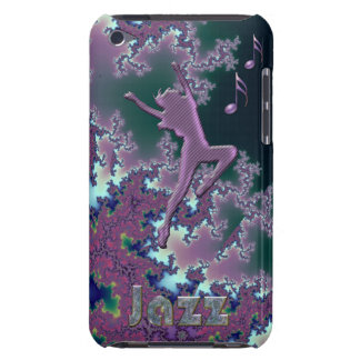 Jazz-Tanz-lila Fraktalipod-Touch-Kasten Barely There iPod Case
