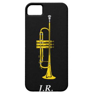 Jazz-Trompete addieren Ihre Initialen-Case-Mate iPhone 5 Schutzhülle